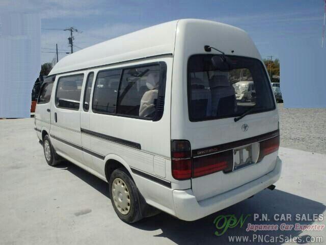 Japan Used Toyota Hiace Commuter KH-KZH120(2003) /SN3228 | P N