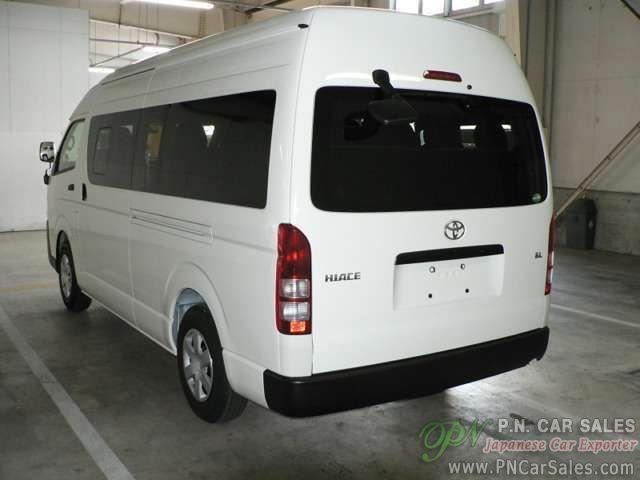 Japan Used Toyota Hiace Commuter LDF-KDH223(2015) /SN3038 | P N