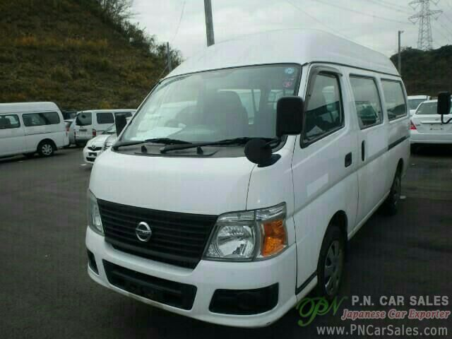 Japan Used Nissan Caravan Van Qr85 2009 Sn3050 P N
