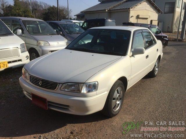Used Toyota Corolla >> Japan Used Toyota Corolla Sedan E Ae110 1998 Sn3075 P N